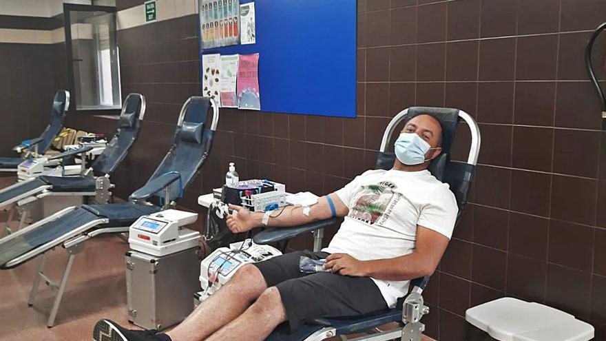 Vecinos de Benavente responden a la llamada para la donación de sangre