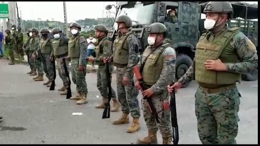 Al menos 75 fallecidos en varios motines en las cárceles de Ecuador