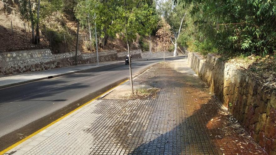 Agua incontinente por la calle Ferrándiz