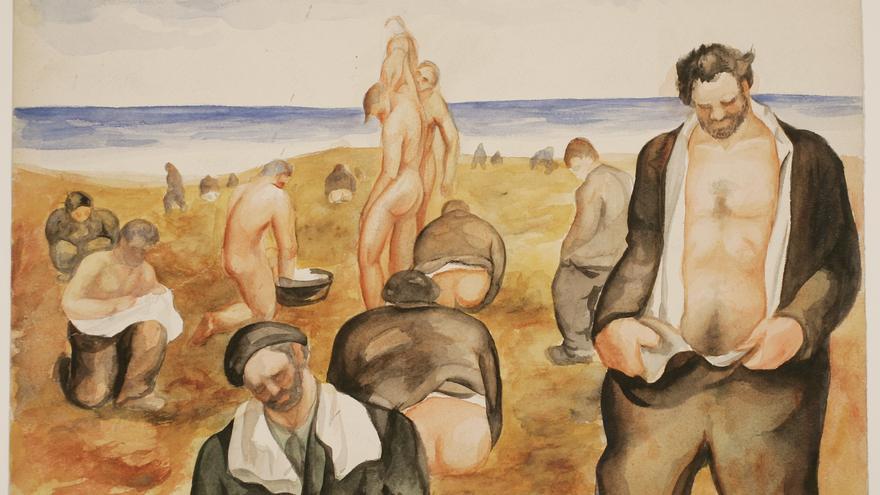 El Reina Sofía exhibe dos obras de Uxío Souto cedidas por el Museo de Pontevedra