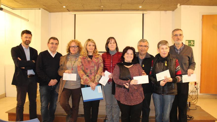 El càmping Illa Mateua de l'Escala fa una donació de 20.000 euros a cinc entitats i ONG's