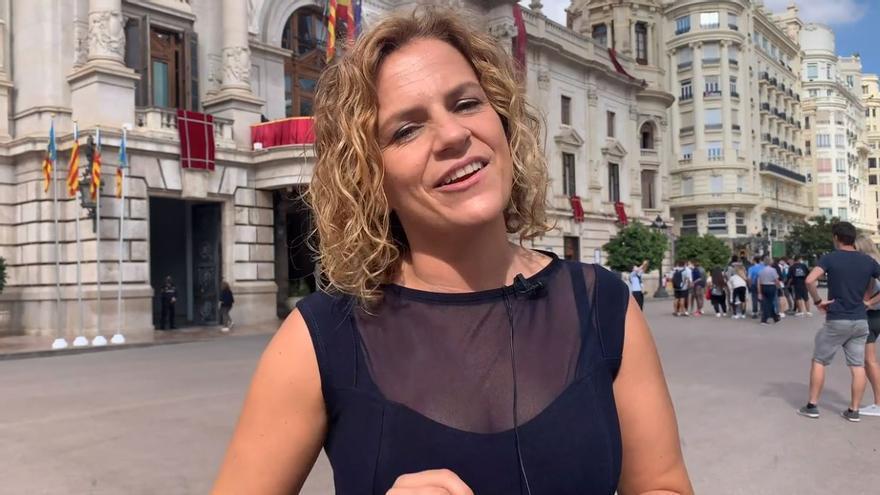 La concejala Bernabé exhibe un correcto inglés en un vídeo para defender la candidatura de València para un certamen internacional de Israel