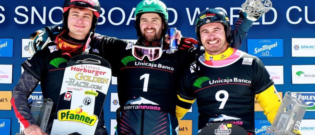 Lucas Eguibar gana la Copa del Mundo de Sierra Nevada