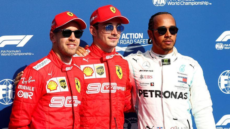 Leclerc aconsegueix la «pole» a Spa
