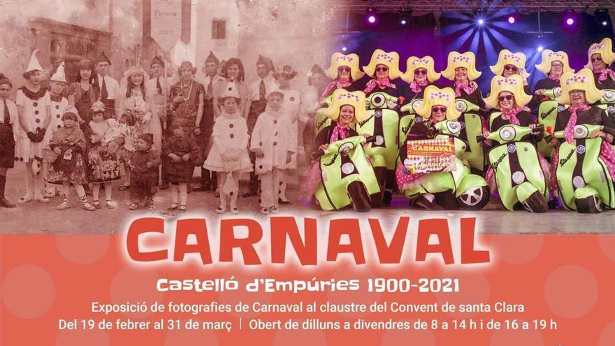 Una exposició fa un recorregut per la història del Carnaval de Castelló d'Empúries