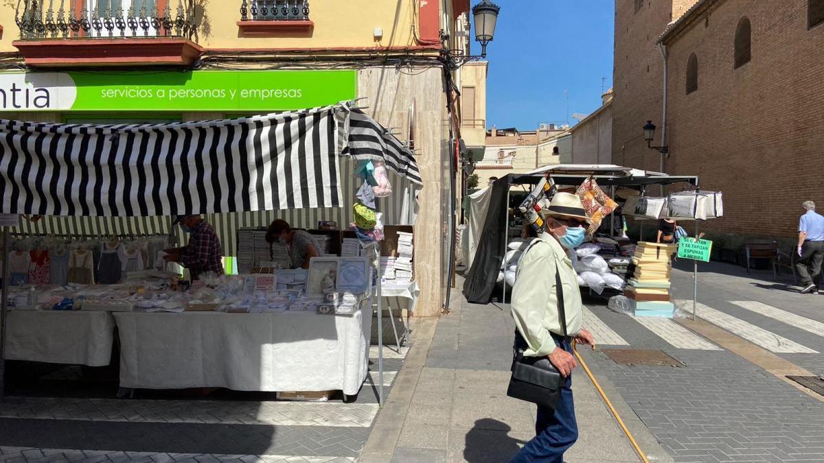 El Mercado Ambulante vuelve a Alboraia con medidas especiales de seguridad