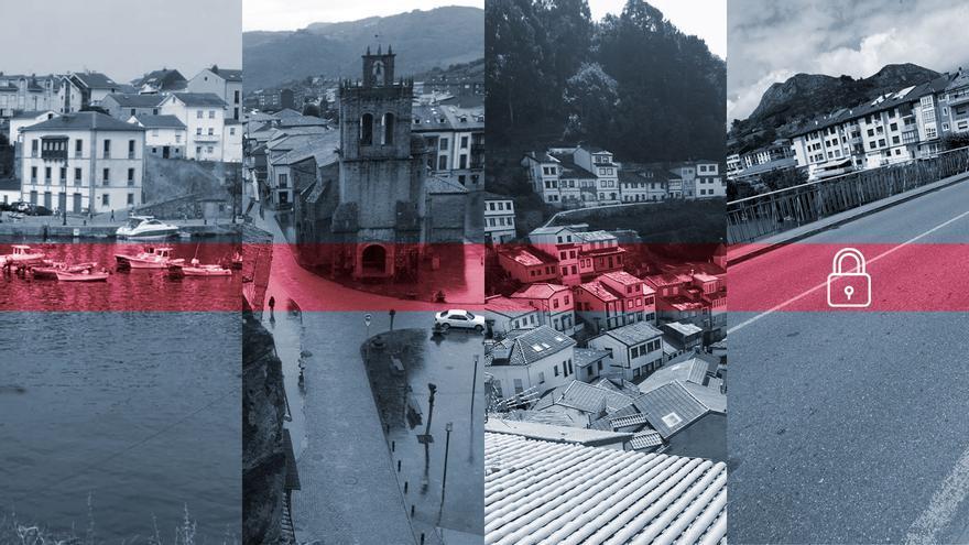 Estos son los concejos asturianos de menos de 10.000 habitantes que más se acercan al cierre perimetral