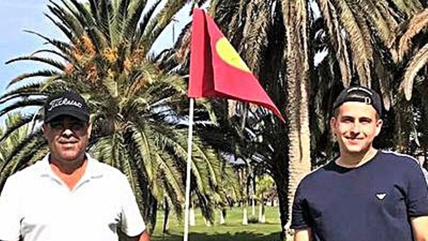 Isaac Moreno y Marc Rodríguez se doctoran en Maspalomas