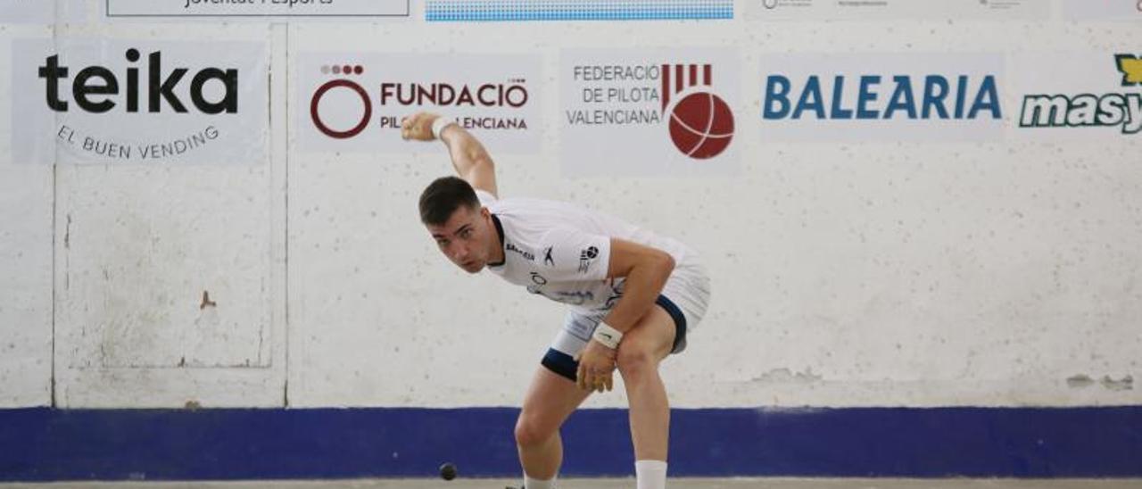 Salelles II en acción durante una partida del Individual | FUNPIVAL