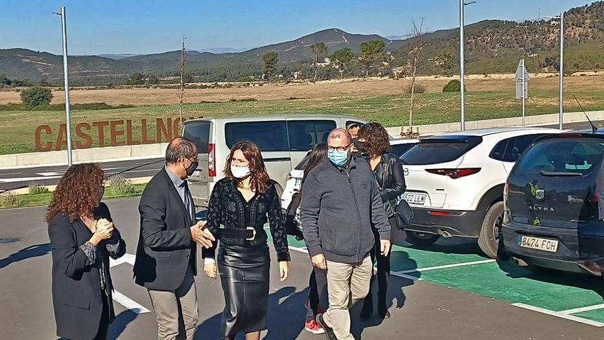Castellnou inaugura l'aparcament que cohesiona tot un espai d'equipaments