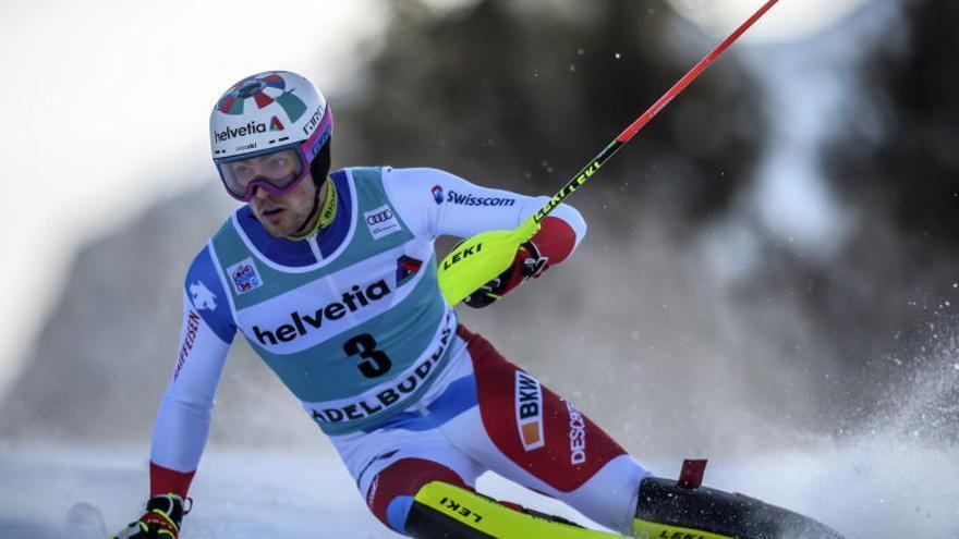 Daniel Yule, un suizo triunfador en Adelboden