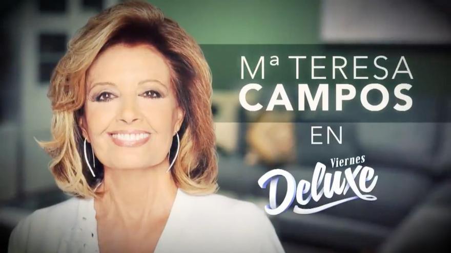 María Teresa Campos, la baza del 'Deluxe' en su duelo contra 'La voz kids'