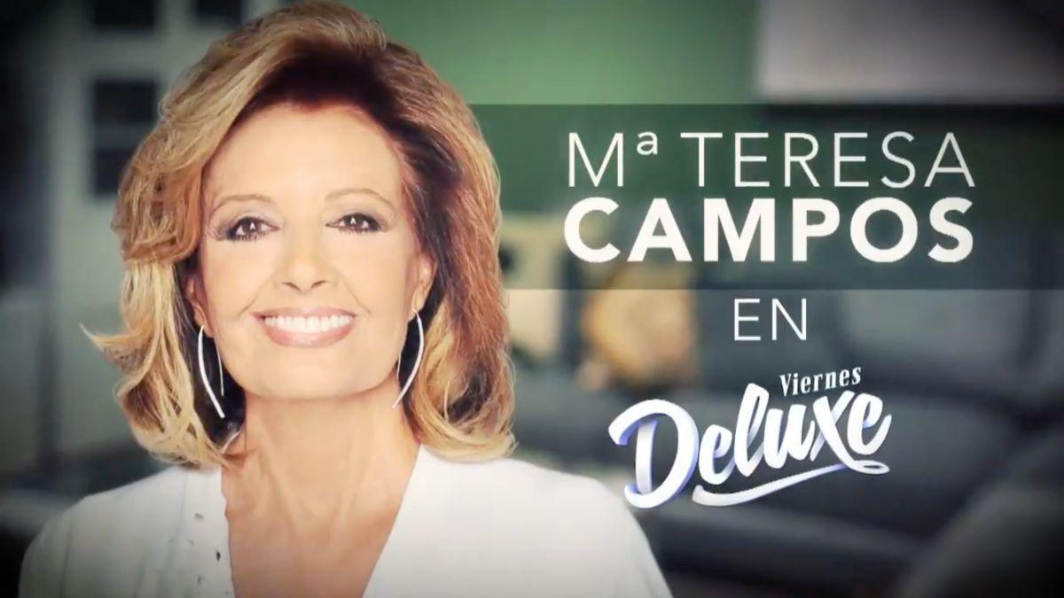 María Teresa Campos, invitada estrella de 'Viernes Deluxe'.