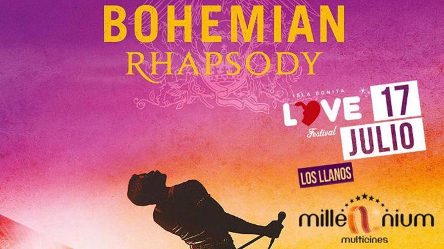 """""""Bohemian Rhapsody"""" llenará las tres salas de Multicines Millenium"""