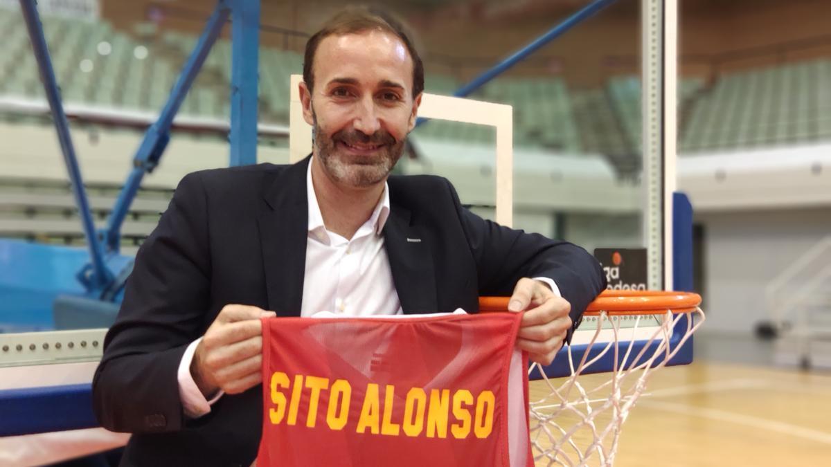 Sito Alonso, en la rueda de prensa