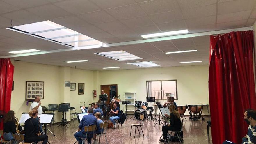 El Ateneo musical de Llaurí realiza mediciones de CO2