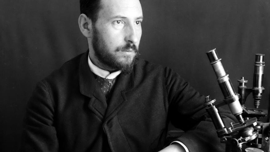 Santiago Ramón y Cajal en la epidemia de cólera de Valencia en 1885