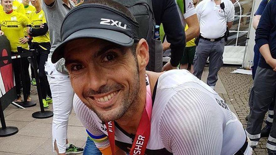 Carlos López se clasifica cuarto en el Ironman de Hamburgo