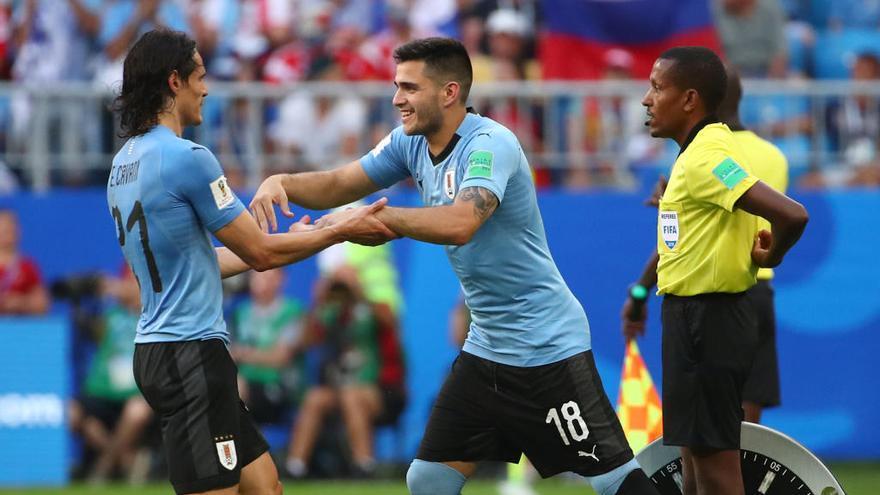 El céltico Maxi Gómez debuta en el Mundial