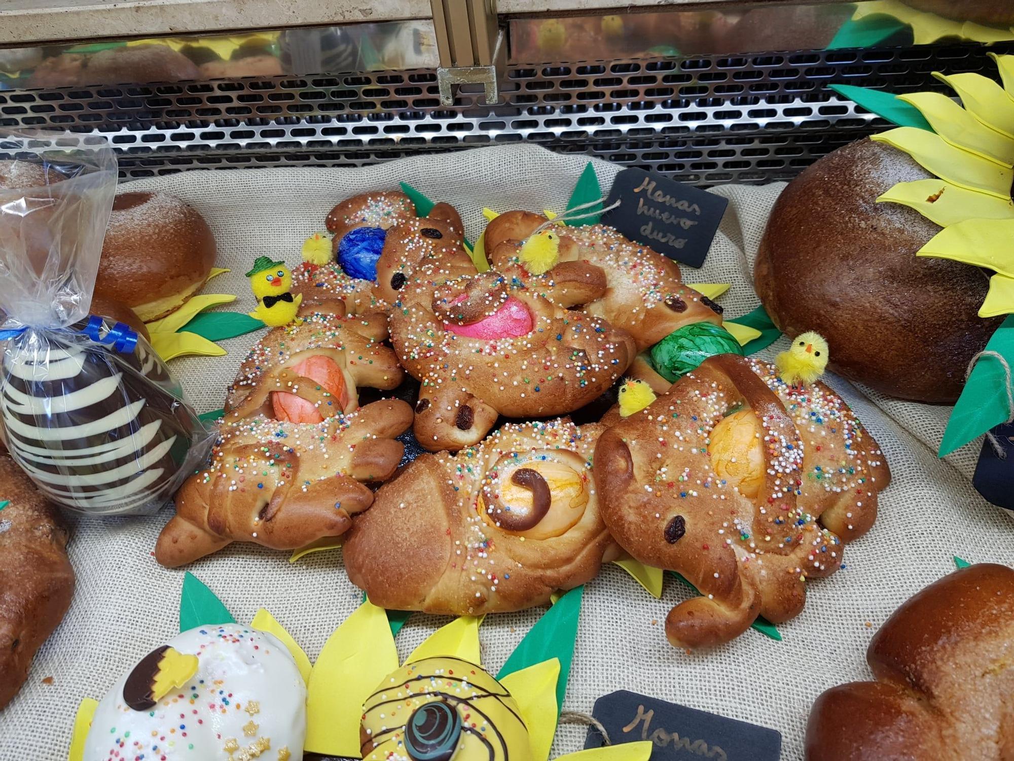 Ganadores del concurso de Dulces de Pascua del Gremio de Panaderos y Pasteleros de València