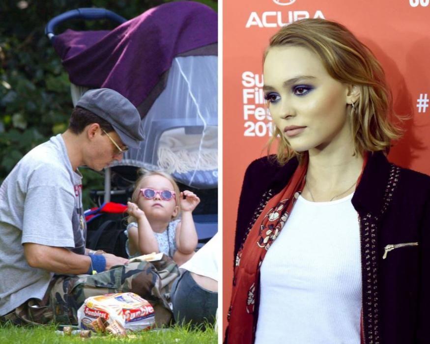 La hija de Johnny Depp y Vanessa Paradís.