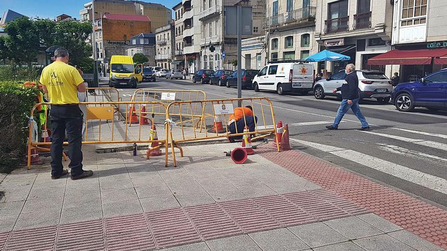 Moaña licita la mejora de la iluminación en Meira, A Fraga y la calle Ramón Cabanillas