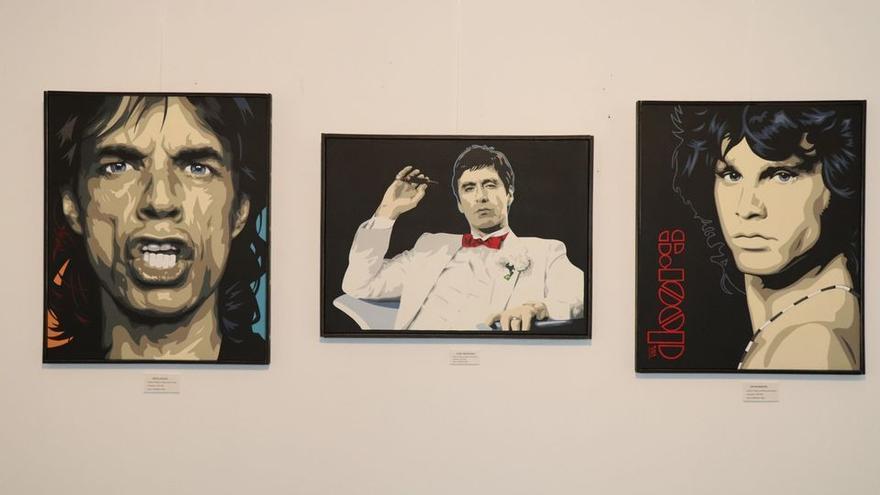 Iconos del Pop en el Espacio Rufino Mendoza