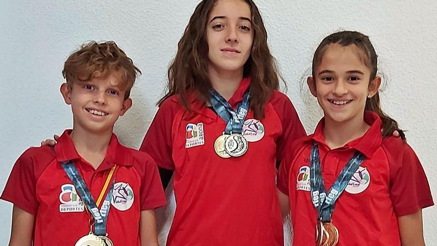 Rodríguez, oro en el Nacional de Trampolín