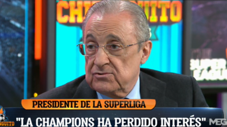 Aquestes són les primeres paraules de Florentino Pérez com a president de la Superlliga