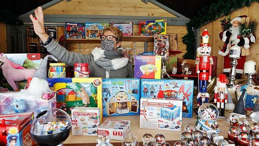 Puestos navideños de Sant Antoni: «Por aquí no pasa nadie»