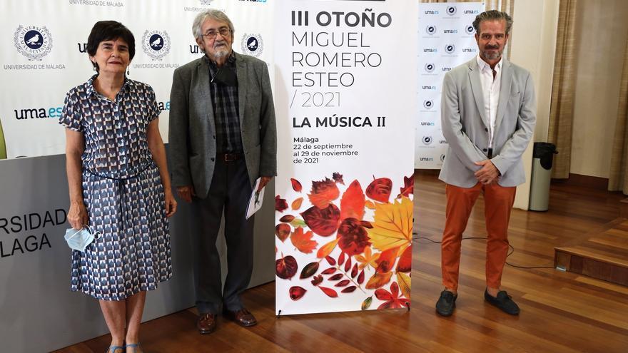 El ciclo 'Otoño Miguel Romero Esteo' retoma el homenaje en torno al dramaturgo con la música como eje