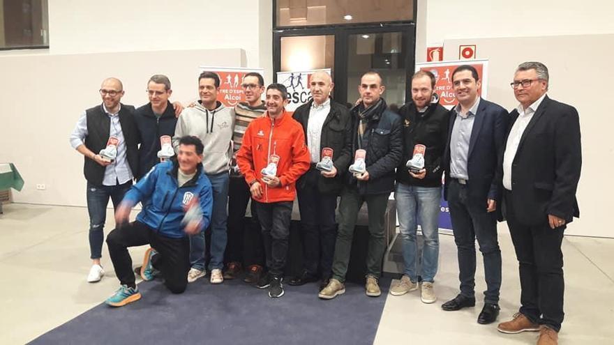 Reconocimiento a los corredores amateurs por parte del Ayuntamiento de Alcoy