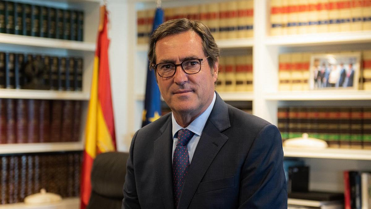 Antonio Garamendi, president de la CEOE.