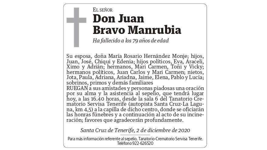 Juan Bravo Manrubia