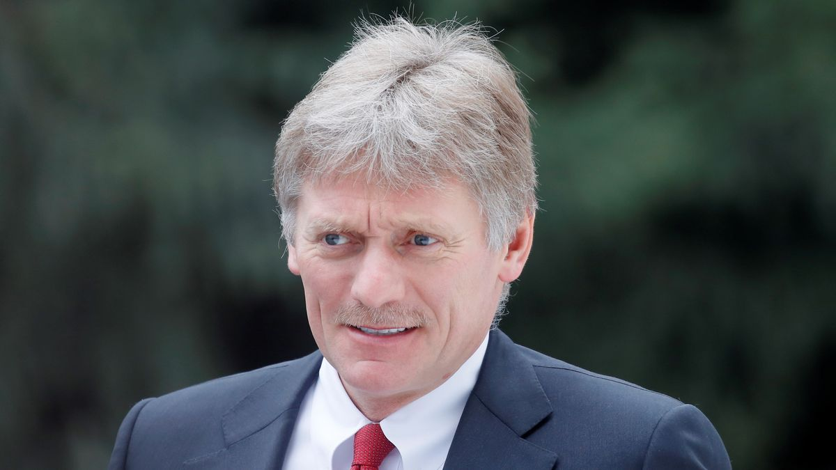El portavoz del Kremlin, Dimitri Peskov.
