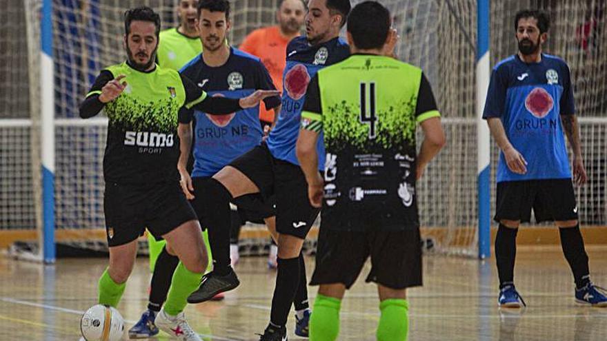 El Sant Julià, el millor equip de futbol sala     de la província