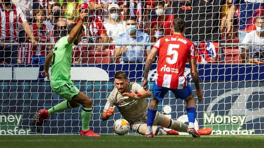 El Atlético se atasca de nuevo en casa