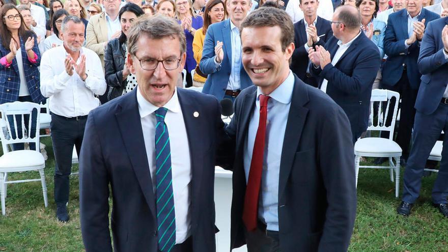 El candidato preferido de Núñez Feijóo en las primarias del PP se hace esperar
