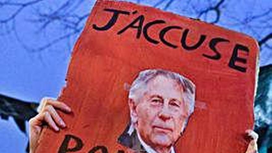 Protestas contra Polanski en los César