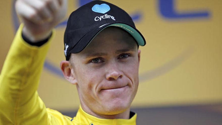 El Tour veta la participación de Froome por dopaje
