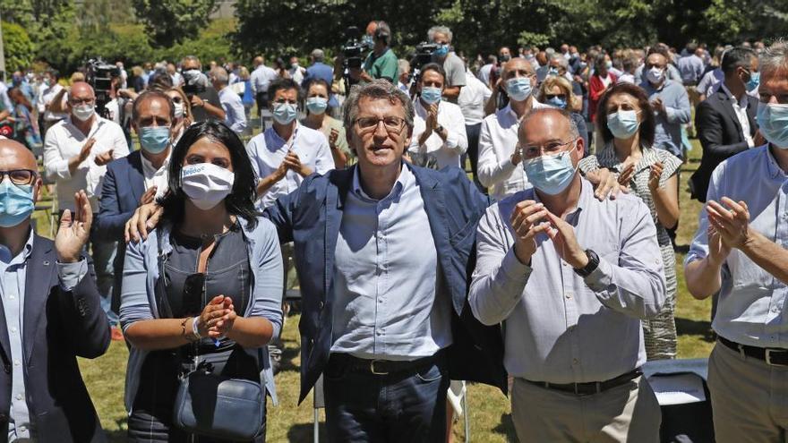 """Feijóo avanza las prioridades de su cuarta legislatura: """"Mi primer objetivo es controlar la pandemia"""""""