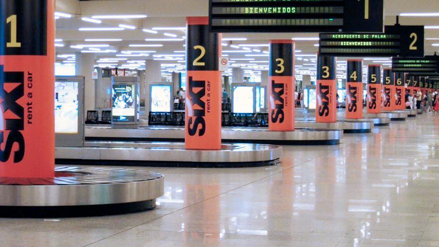 El aeropuerto de Palma invierte 1,8 millones en adaptar la sala de llegadas al Brexit
