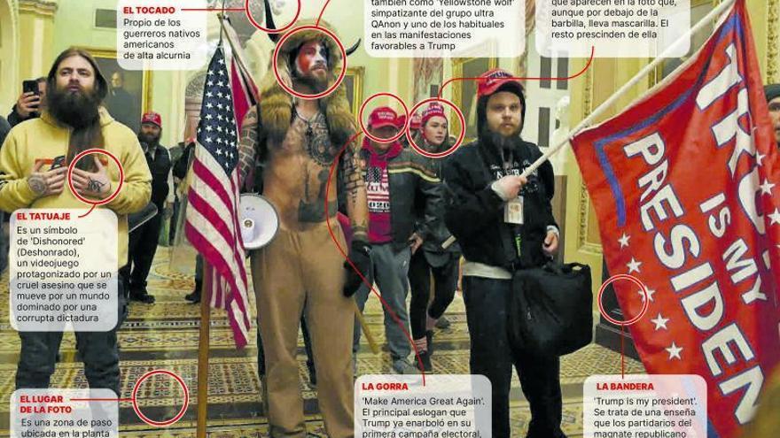 QAnon y los Proud Boys, los grupos radicales que lideraron el asalto - El  Día