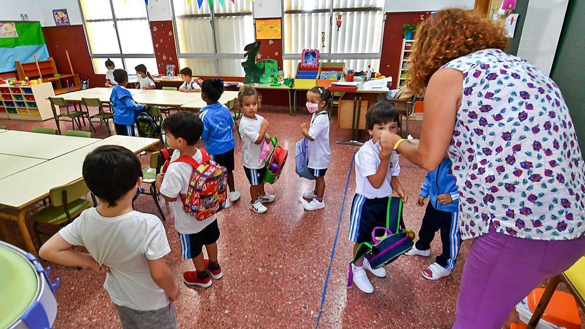 Back to school in the capital, last September.  |  |  JUAN CASTRO
