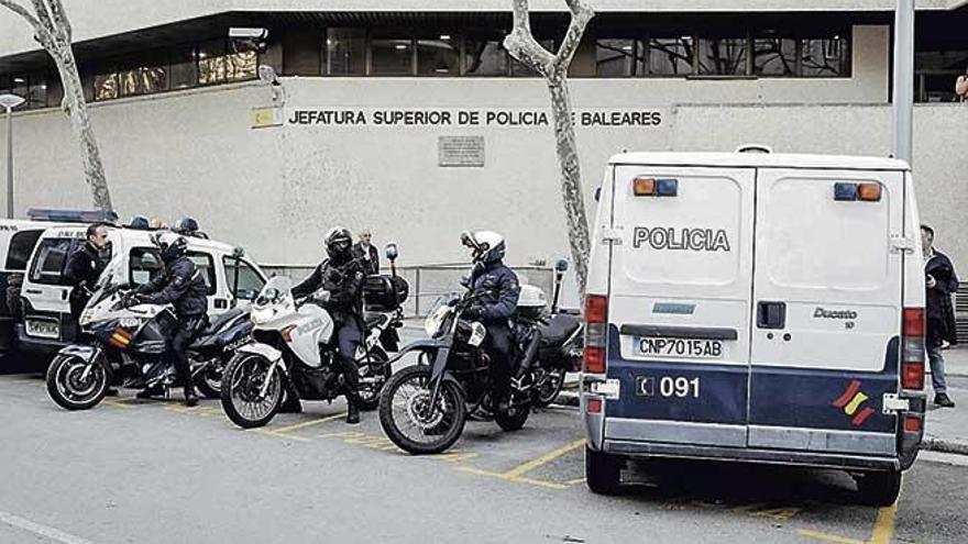 Un ladrón se intenta suicidar después de ser sorprendido robando en una casa de Palma