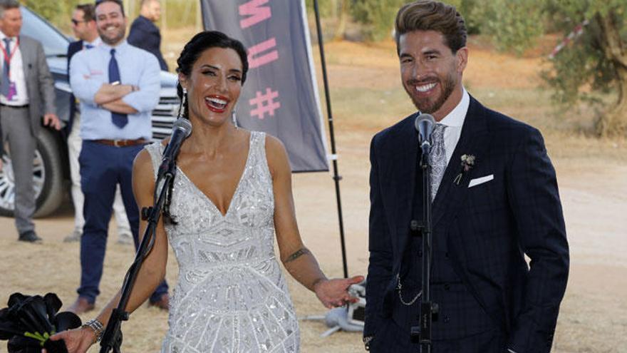 Los cantantes que se negaron a actuar en la boda de Pilar Rubio y Sergio Ramos