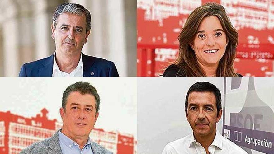 Las cuatro esquinas de las primarias del PSOE