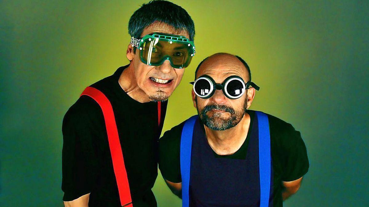 Carlos Faemino y Javier Cansado (derecha) forman el dúo Faemino y Cansado.