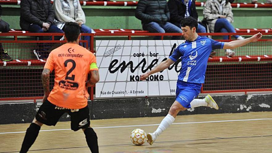 El Estrada Futsal sufre más de lo esperado con el Boal
