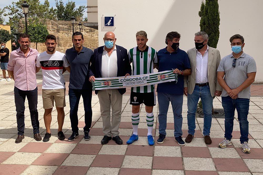 El Córdoba CF presenta a Antonio Casas en La Rambla